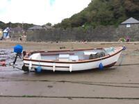 Plymouth Pilot 18ft fishing boat