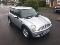 Mini 1.6 manual 2004 77 k miles hpi clear 54 plate 1100 pounds no offes
