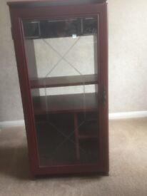 Hi-Fi Cabinet dark wood