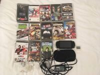 PSP with 13 games for sale