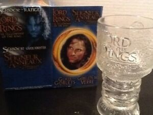 Lord of the Rings- Collectable goblet