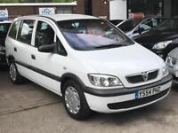Vauxhall Zafira Life Dti 2.0cc 16v Diesel Manual 05/54 In White 7 Seats MPV