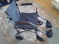 Travelite aluminium wheelchair