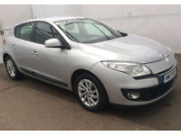 2013 Renault Megane 1.5 dCi Expression+ with 63K miles and 12 month MOT