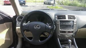 LEXUS IS 250 2008, FULL AIR CLIMATISÉ / PANEL SHIFT