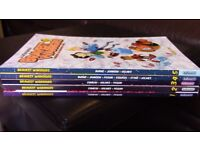 BRAVEST WARRIORS - 5 volumes of this hilarious comic series by the creator of Adventure Time - CHEAP