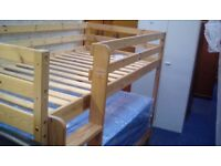 Bunk bed (mattress sold separately £59) - flatpack new #13281 £99