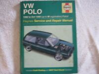 Haynes VW Polo Owner's Manual '82 to '96