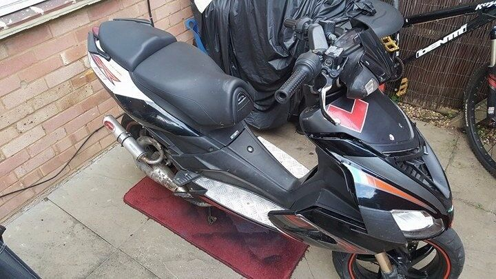 Aprilia SR50 R deristricted 70kit moped spares/repairs