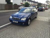 Mercedes-Benz C Class 1.8 C180, Excellent Condition,1 year mot,service history, new discs+pads F & R