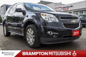 2011 Chevrolet Equinox 2LT|LEATHER|ROOF|BLUETOOTH|HTD SEATS|PWR
