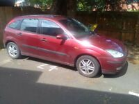 Ford Focus Zetec MOT Failed