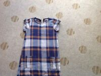 Comfy girls shift dress Age 9 years