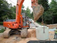 Pipe foreman, Pipe layers, Excavator and Skid Steer Operators