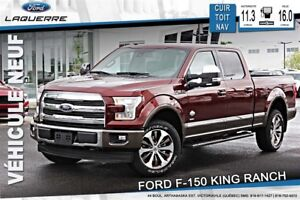 2017 Ford F-150 KING RANCH* 190$/SEMAINE*