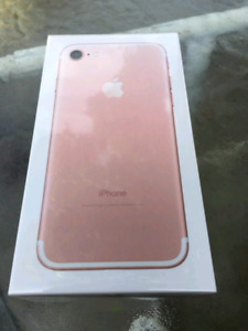 Sealed Box Brand New iPhone 7 32GB With Warranty