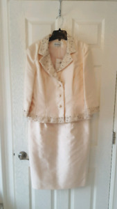 Silk Mother of the Bride/Groom  Dress and Jacket