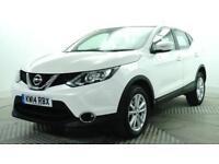 2014 Nissan Qashqai ACENTA DIG-T Petrol white Manual