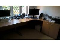 Opportunity Home Clearance! Almost new Office Furniture for sale
