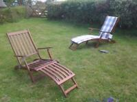 Hardwood Steamer Chairs