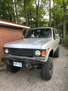 1986 Toyota LandCruiser non-turbo diesel 4.2 litre LIFTED