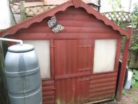 Wooden Wendy house/ Play house