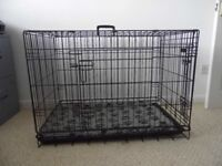 Dog Crate for medium size dog. Good as new.