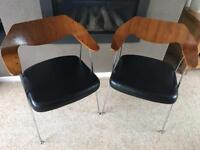 Habitat Robin Day 675 Office Dining Chairs x 4