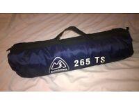 A good quality Eurohike 265 TS 3 man tent