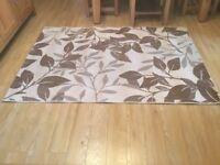 Flat weav rug