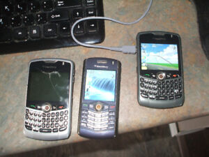 Blackberry phone - locked to MTS & two extra phones