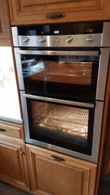 NEFF Stainless Steel Integrated Double Fan Oven