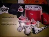 Steriliser, bottles, bottle warmer, insulated bottle holders, etc...NEW