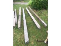 Concrete posts £20 for 8