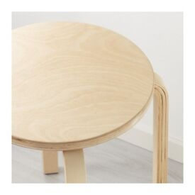 IKEA FROSTA Plywood stool or side table