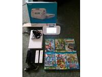 Wii U with Games and Controllers