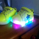 Light up kids shoes