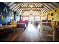 Coffee Lounge / Cafe Supervisor Required (Full-Time) - The Shed near Minchinhampton, Stroud