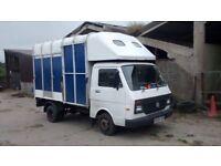 VWLT35 horse box 3.5 tonne