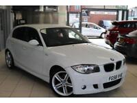 2008 58 BMW 1 SERIES 2.0 118D M SPORT 5D 141 BHP DIESEL