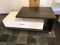 Brown & White Coffee Table