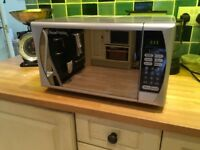 Microwave - Russell Hobbs 800watt - good condition - mirrored front