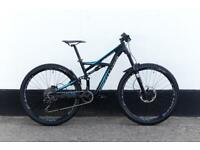 Enduro full suspension mountain bike 29er 10 speed Rockshox pike 160cm
