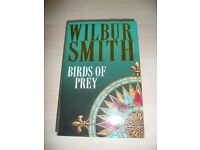 Wilbur Smith 'Birds of Prey' signed by Author