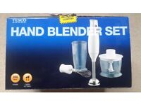 Brand new hand blender set