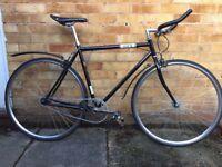 """21"""" Black Single Speed / Fixed Gear Bike"""