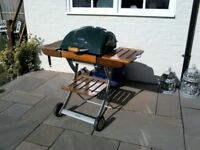 B B Q Outback charcoal 200 garden BBQ with utensils . Good clean condition.