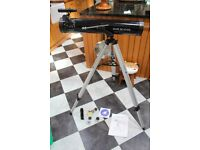 SAXON TELESCOPE BOUGHT AS A GIFT HARDLY EVER USED