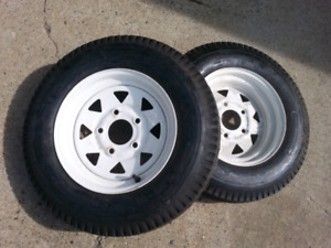 Trailer tires new