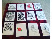 Tattoo design commissions